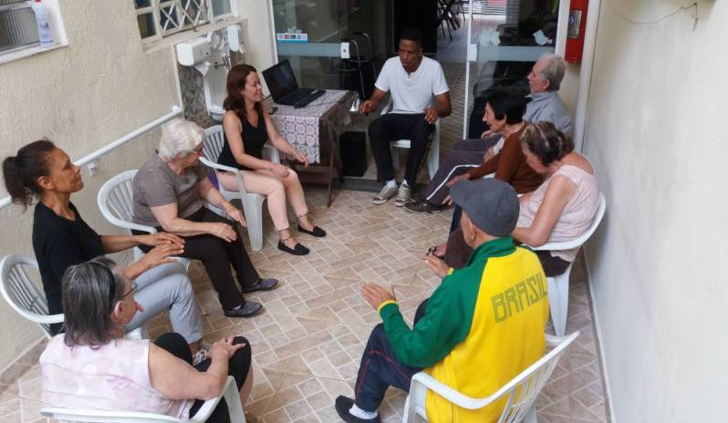 Lar Residencial para Idosos em Sp na Vila Matilde - Lar Creche de Idosos