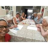 creche para idosos com atividades cognitivas na Anália Franco